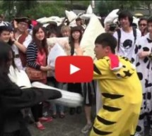 International Pillow Fight Day In Hong Kong Looked Fun Enough