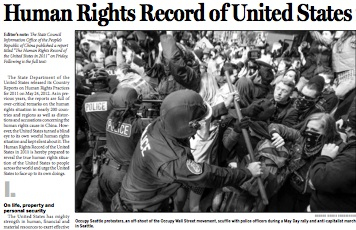 Human Rights Record of the United States