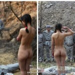 Naked Chinese Girl Salutes Soldiers In Anti-Japanese Drama, Netizens Express Dismay And Scorn