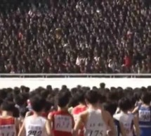 Watch: North Korea's Mangyongdae Prize International Marathon In Pyongyang