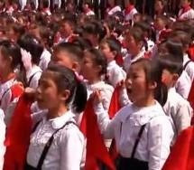 Here's North Korean Children Swearing Their Lives To Kim Jong-un