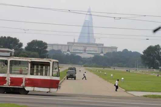 Pyongyang, North Korea (picture by Anthony Tao)