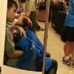 Man Receives Clandestine Blowjob On Taipei Metro (Video)