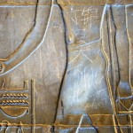 Ancient Luxor Temple defaced by Chinese tourist vandal
