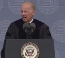 "Joe Biden, In Commencement Speech, Says The Chinese Can't ""Think Different,"" Plus Other Regrettable Things"