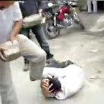 Chinese Thieves Brutally Assaulted, Smashed With Concrete Blocks [Disturbing]