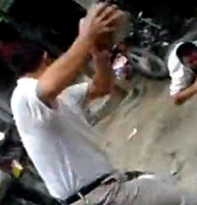 Brutal beatdown of thieves 3