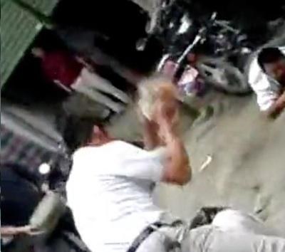 Brutal beatdown of thieves 5
