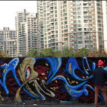 Chillax With Graffiti Time-Lapse At Shanghai's Moganshan Road