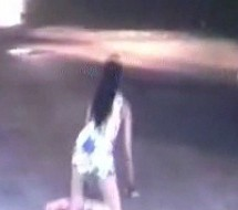 Guangdong Woman Dances On Police Car; Yes, Is Drunk