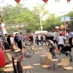 Ai Weiwei Uploaded Video Of A Huge Brawl In Beijing's Guijie, Purportedly Between Tibetan Peddlers And Han Chinese