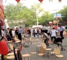 Ai Weiwei Uploaded Video Of A Huge Brawl In Beijing&#8217;s Guijie, Purportedly Between Tibetan Peddlers And Han Chinese