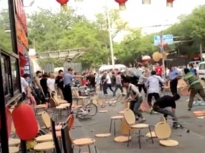 Huge brawl at Beijing Guijie, video uploaded by Ai Weiwei featured image