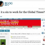 It's Not A Sin To Work For Global Times