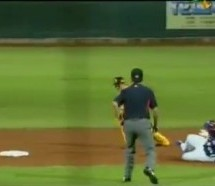 Manny Ramirez Slides Too Early, Sends Chinese Announcers Tittering