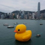 Rubber duck in Victoria Harbor 1