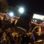 Large Crowd Shows Up To Smash Porsche After Its Drunk Driver Allegedly Beats Cabbie