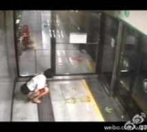 Another Public Pooper Caught On Camera In Shenzhen Subway