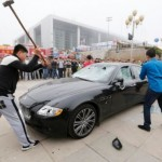 Maserati Owner Smashes His Own $423,000 Vehicle To Spite Car Dealer