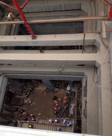 Xi'an subway collapse 2