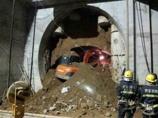 Xi'an subway collapse