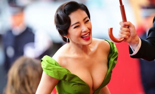 Zhang Yuqi at Cannes