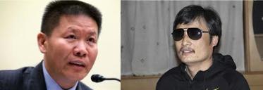 Bob Fu and Chen Guangcheng