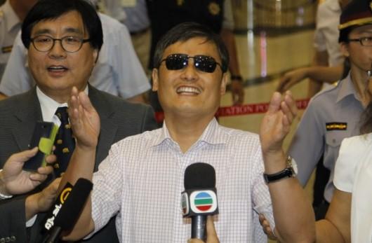 Chen Guangcheng in Taiwan