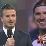 David Beckham on Chinese show