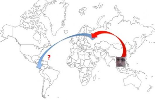 Edward Snowden to Ecuador