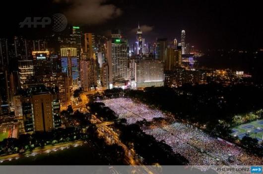 Hong Kong Tiananmen vigil