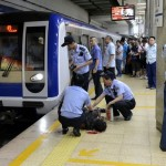 Man Hit By Subway Train At Beijing's Chaoyangmen Station