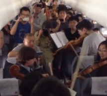 Here's A Philadelphia Orchestra Performance Of Dvorak On An Airplane In Beijing