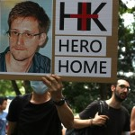 Scenes From Hong Kong's Rally For Edward Snowden