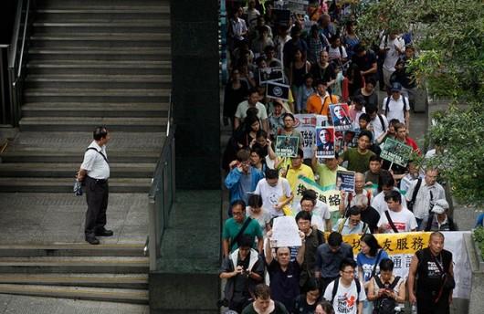 Snowden rally in Hong Kong 3