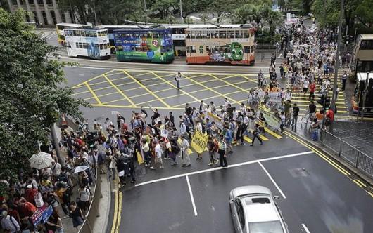 Snowden rally in Hong Kong 7