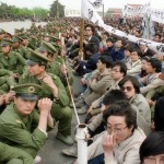 Tiananmen in April 1989