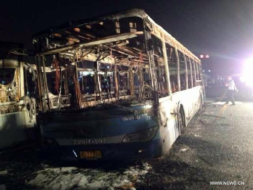 Xiamen bus fire kills 47c