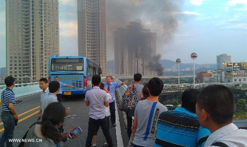 Xiamen bus fire kills 47e
