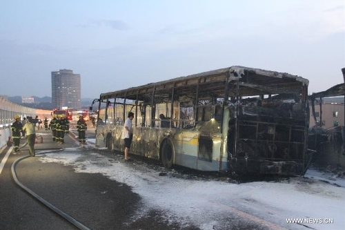 Xiamen bus fire kills 47f