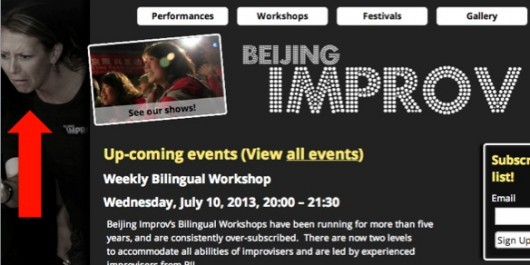 Beijing Improv with Lottie Dowling