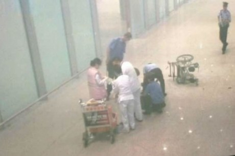 Beijing airport explosion 3