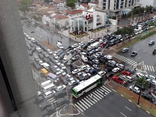Beijing traffic jam
