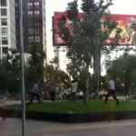 Watch: Unarmed Beijing Police Take Down Chaoyang Joy City Killer