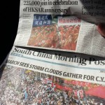 China Daily And SCMP Ran Very Different Frontpage Stories About Hong Kong Rallies