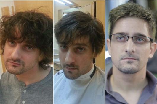 Edward Snowden character in Vorax