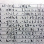 Gaokao essay scores 0 points