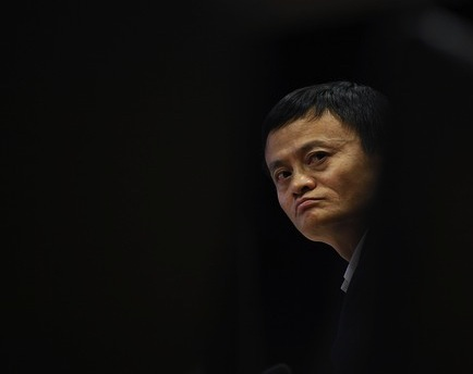 Jack Ma in the shadows