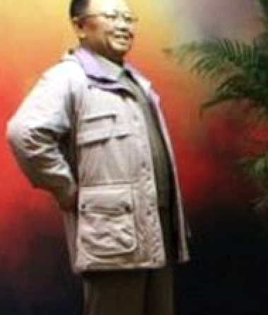 Kim Jong-il wax statue zoomed in