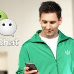 Messi endorses WeChat